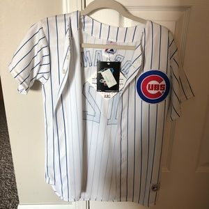 NWT women's size L Chicago Cubs Jersey